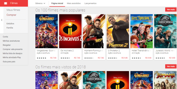 Google Play Filmes | Zero3Games