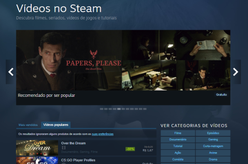 Vídeos Steam | Zero 3 Games