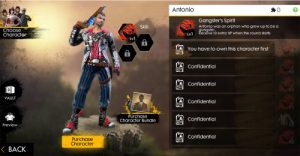 Free Fire Personagem | Zero3Games