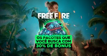 Diamantes bônus Free Fire