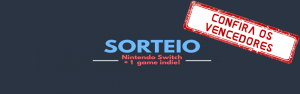 Sorteio Nintendo Switch