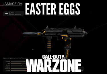 Easter Eggs e Call of Duty Lamaceira