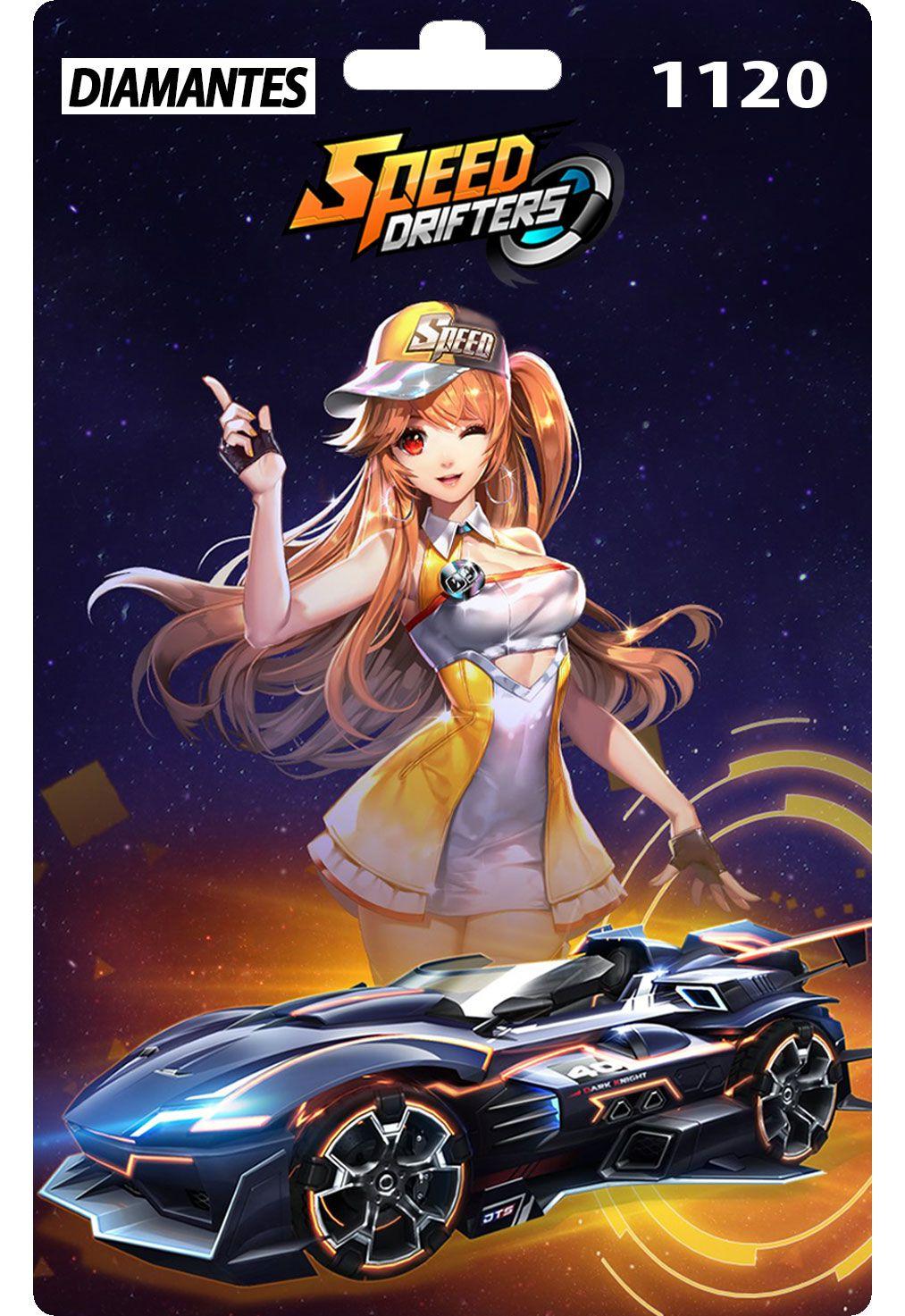 Speed Drifters 1120 Diamantes Recarga Zero3games